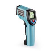 Infrared Thermometer,ZOTEK G550 Compact Laser Digital Infrared Thermometer -58°F and 1022°F Accurate NIST Traceable Adjustable Emissivity with LED Backlight Display Laser Target Pointer