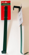 Christmas House Forest Green Metal Wreath 36cm Hanger