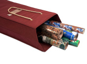 Santa's Bags Decorated Wrapping Paper Storage Box