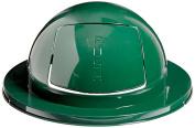 Rubbermaid Commercial FG1855EGN Steel Drum Dome Top, 60cm - 13cm , Green