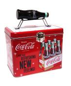 Retro Coca Cola Galvanised Tin Storage Container