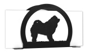 CHOW CHOW Metal Letter Napkin Card Holder