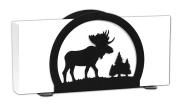 MOOSE Wildlife Metal Letter Napkin Card Holder