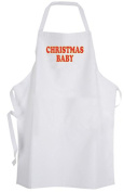 Christmas Baby – Adult Size Apron – Holiday