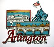 Historic Arlington Virginia Fridge Magnet