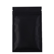 QQ Studio 100 Multiple Size & Matte Coloured Flat Zip Lock Bags