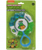 TMNT Cool Teether & Lollipop Rattle Set - blue, one size