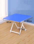 Home Portable Folding Table Square Table Dining Table Children's Table (6 Colours, 3 Sizes Optional)
