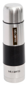 Mr Coffee Javelin 470ml Thermal Bottle - Silicone Sleeve, , Brushed Stainless Steel