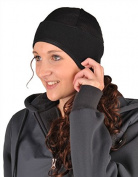 HKM Thermal Warm Knitted Universal Size Hat Horse Riding Headwear Caps & Helmets