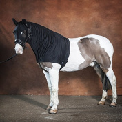 Snuggy Hoods Weatherproof Horse Hood for Turn Out With Zip