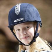 Champion Junior X-Air Plus Riding Hat - Navy Blue