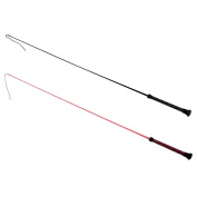 Red Horse Pony Dressage Rubber Whip Stick Durable Equestrian Riding Equipment
