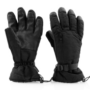 INTEY Winter Ski Gloves Waterproof Thinsulate Warm for Outdoors Cold Weather Fit Men and Women
