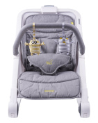 Bababing Rockout 3 Position Baby Rocker/Bouncer, Grey