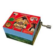 "Fridolin 148450cm Beethoven Song of Joy/Germany Black Forest"" Music Box"