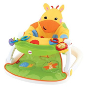 Giraffe Sit Me Up Floor Seat with Tray