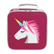 Apparel Printing Emoji Unicorn Face Lunch Bag