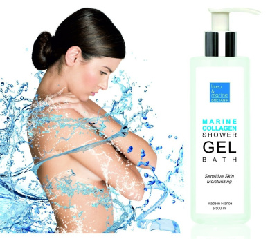 MARINE COLLAGEN SHOWER GEL 500 ml Youth-renew Moisturising BATH & SHOWER Gel