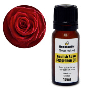 Bee Beautiful 10ml English Rose Fragrance Oil suitable for soap & candle making by Bee Beautiful