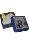James Bronnley Soap in a Tin 100g Orchid (Old Style Bus) by James Bronnley
