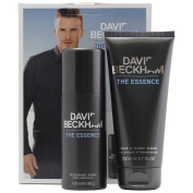 The Essence by David Beckham Deodorant Spray 150ml & Hair and Body Wash 200ml