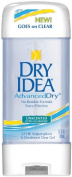 Dry Idea Roll On Anti-Perspirant & Deodorant, Advanced Dry, Unscented Hypo-Allergenic, 90ml Tubes