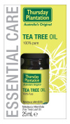 Thursday Plantation Tea Tree Pure Oil 10ml to Relieves minor cuts, burns, abrasions, pimples, bites and stings