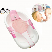 Itian Newborn Baby Infant Bath Seat Support Net Bathtub Sling Shower Mesh Bathing Cradle Seat Support Sling for Tub