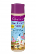 Childs Farm Blackberry and Apple Hair and Body Wash 250 ml - Pack of 6