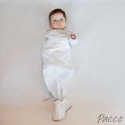 Pacco Plus swaddle, 8 kg Plus, X-Large, White