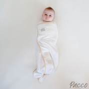 Pacco swaddle, 7 kg Plus, Large, White