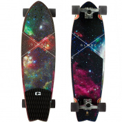 Globe Chromatic Cruiser Galaxy Complete Longboard Skateboard 25cm x 80cm