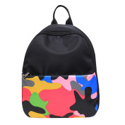 Demiawaking New Camouflage Nylon Waterproof Backpack Travel Bag Shoulder Bag Leisure Boy Girl Student School Bags