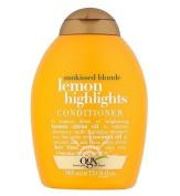 OGX Lemon Highlights Conditioner 385ml by Organix