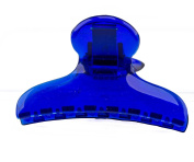 1 hair clip Classic 8x4 cm in Blue - Made in Germany - Welovebeads