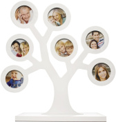 Pearhead Family Tree Keepsake Frame, White