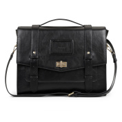 ECOSUSI Laptop Briefcase Satchel (switch to Backpack) for 37cm