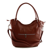 Made In Italy Genuine Leather Woman Bag Colour Red Tuscan Leather - Woman Bag