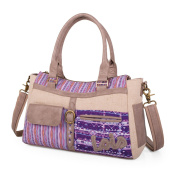 LOIS - 22163 BAG WITH DOUBLE HANDLE AND SHOULDER STRAP