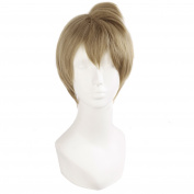 MapofBeauty Cosplay Costume Men's Short Straight Wig