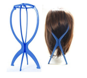 Wig Stand Folding Stable Durable Hair Hat Cap Holder Display Tool