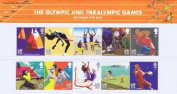 2011 The Olympic and Paralympic Games Stamps in Presentation pack