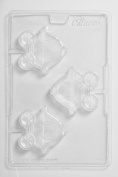 Princess Carriage Lolly Chocolate Mould 3 Cavity x 10