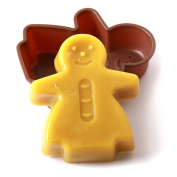 Gingerbread Woman Silicone Mould x 10