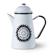 ISAK Ceramic Enamel Coffee Pot