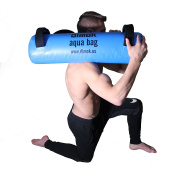 Dimok Crossfit Weights Aqua Bag Weight Bag -Home Exercise at Home Gym - Portable Weight Strength Training Workout - Comes with a Foot Pump