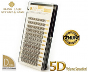 5D Blink Lash Stylist Mix eyelashes for eyelash extension D curl- thickness- 0,07 mm , length- 7-14 mm.