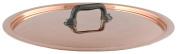 Mauviel M '150/250 654816 Copper Clear Lid 17.5 x 17.5 x 2.5 cm