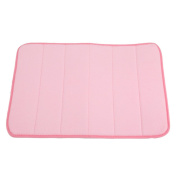 VWH Bath Mat Bath Rugs, Anti-slip Anti-bacterial Carpet for Kids Safety with Memory Foam Coral Velvet Fabric